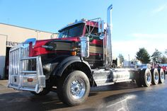 Big Rig Trucks, Dump Trucks, Heavy Construction Equipment, Kenworth Trucks, Buses, Rigs, Diesel, School, Classic