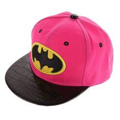 c1a0ac2076c Click Here For More Kids BATMAN Snapbacks Girl Baseball Cap