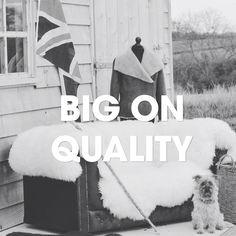 Big on British quality 🐑