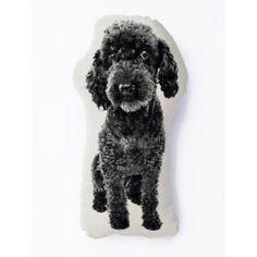 Poodle Mini Cushion