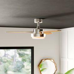 Mercury Row 42 Corsa 3 Blade Ceiling Fan Light Kit Included
