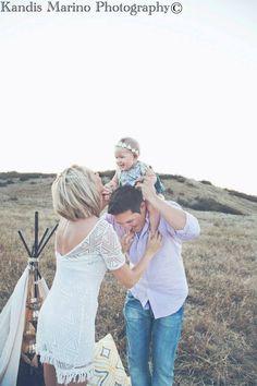 BOHO styled family Photoshoot - Kandis Marino photography