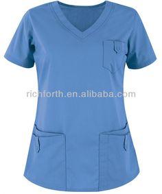 de la manera uniforme de enfermera médica scrub top de spa y uniformes-imagen-Uniformes hospitales-Identificación del producto:700942825-spanish.alibaba.com