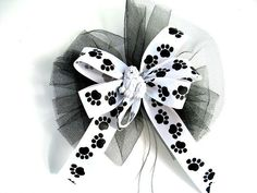 Dog gift hair bow Dog bow Dog Hair Accessory Special by jandavis2, $4.00