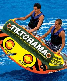 Another great find on #zulily! Tiltorama Towable Float #zulilyfinds