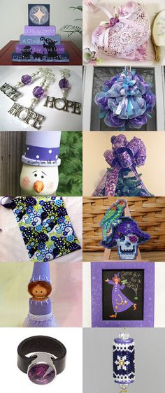 I love purple - and the HDM team by Suzy Decker on Etsy--Pinned with TreasuryPin.com