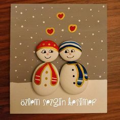 Iyi pazarlar. Salı günü kar geliyormuş. #tasboyama #tasarim #stonepainting #paintingrocks #kar #kardanadam #snow #snowman #kis #soguk #lapalapa #evdekorasyonu #cocukodasidekorasyon #yeniyilhediyesi #kisiyeozelhediye #yilbasihediyesi #yilbasi #ask #love #amour #satilik #satilik