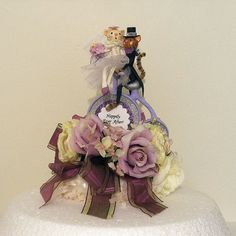 Wedding Cake Topper/Wedding by marileejanedesigns.etsy.com