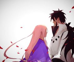 Sakura and Indra #Naruto