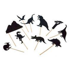 Teatrzyk cieni Dinozaury
