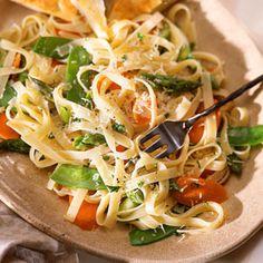 Pasta Primavera | MyRecipes.com #vegetables #myplate