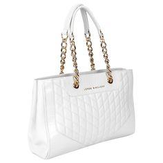Bolsa Jorge Bischoff Alça Corrente Off White | Zattini - A nova loja de moda online da Netshoes