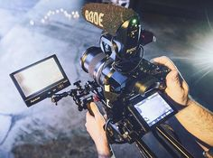 This is a #great dslr rig setup by @drewmason by film.rev