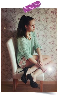 This is Leona Melíšková's buyer show in OurMall;  #SWEATER #SHORT #Floral #Necklace please click the picture for detail. http://ourmall.com/?yMRJZf #sweater #sexysweater #sweaterforwomen #sweaterforgirls #springsweater #woolsweater #cutesweater #refashionsweater