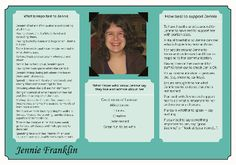 Jennie's one-page profile. See it in full here: http://onepageprofiles.files.wordpress.com/2013/11/14-jennie-franklins-one-page-profile-from-suzie-franklin.pdf