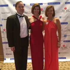 Saturday, May 9th, 2015 - my husband and I had the honor of attending the American Heart Association's Heart Ball!  The event raised more than $800,000 in the fight against heart disease.  Pictured with AHA Austin Executive Director Ann Jerome