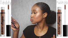 **New** NYX Lingerie Swatches + Review | Teddy & Push Up | JasmineLaRae