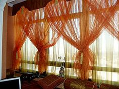Gallery of Kerala home design, floor plans, elevations, interiors designs and other house related products New Living Room, New Room, Living Room Furniture, Window Coverings, Window Treatments, Decorative Curtain Rods, Kerala House Design, Kerala Houses, Drapes Curtains