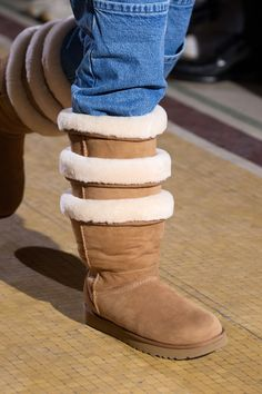 Thigh-high Ugg boots are now here, via one of fashion's coolest new brands - HarpersBAZAARUK