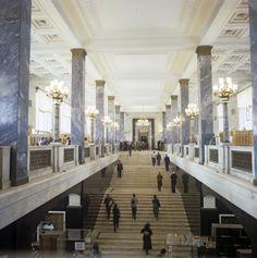 Russian State Library (Leninka), Moscow. http://www.rsl.ru/en