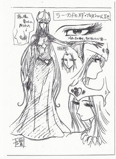 Queen Millennia sketch