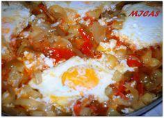 horta e cozinha: Ratatouille com Ovos Escalfados
