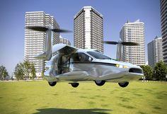 """""""滑走路不要""""の空飛ぶ自家用車の開発開始。2020年代に一般販売"""