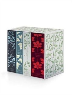 The Brontë Sisters Boxed Set: Jane Eyre, Wuthering Heights, The Tenant Of Wildfell Hall, Villette by Charlotte Bronte