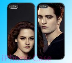 Twilight Bella and edward - Couple case for Iphone