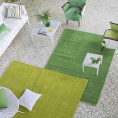 Buy Designers Guild Soho Rug, Chartreuse, L180 x W120cm Online at johnlewis.com