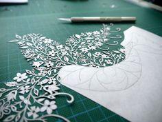 Amazingly Detailed Hand Cut Paper Art - FaithTap