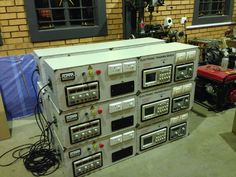 Electronic test bench