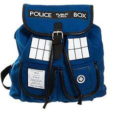 Doctor Who Tardis de Dr. Azul Mochila (Dr. W-02)