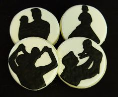 Sweet Melissa's Cookies: Happy Father's Day: Father & Son Silhouette Cookies