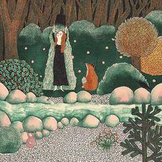 Fanny Ducassé - La rivière glacée   Oeuvres   Galerie Robillard
