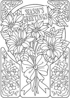 Welcome to Dover Publications 	 From: Creative Haven An Old-Fashioned Christmas Coloring Book