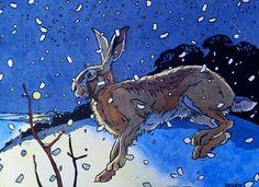 Andrew Haslen Winter Hare II