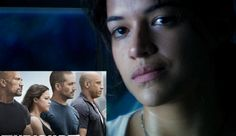 Michelle Rodriguez showed a much softer side of herself during the Furious 7 trailer premiere on Saturday. The actress, who is mostly known for playing the tough, emotionless side of . The Furious, Michelle Rodriguez, Love To Meet, Films, Movies, Movie Trailers, Lyrics, Actresses, Books