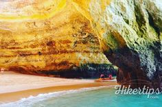 Benagil Cave- a breathtaking place - HikerTips Algarve, Beach Fun, Wonders Of The World, Beaches, Beautiful Places, Waves, Amazing, Outdoor, Outdoors