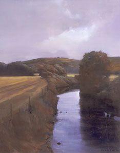 Randall Exon River Scene, 2005 Oil on panel, 19 ¾ x 15 ¾ in.n