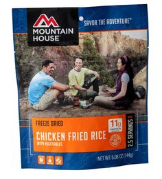 6 Pack Case Mountain House Chicken Fried Rice with Vegetables