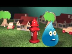 "Check out our new ""Splash"" video to see how water flows from the treatment plants to your home. Career Day, Water Cycle, Environmental Science, Life Cycles, Wolf Den, Homeschool, Scouts, Croatia, Creativity"