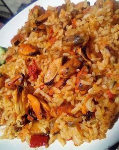 Greek Recipes, Fried Rice, Seafood Recipes, Vegan, Ethnic Recipes, Pisces, Greek Food Recipes, Ocean Perch Recipes, Vegans