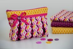 """Zippered pouch """"Susie"""" by pattydoo"""
