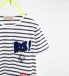 06b5a6d3 Patches T-shirt-T-SHIRTS-BOY | 4-14 years-COLLECTION AW16 | ZARA United  States