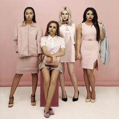 Little Mix Channel Legally Blonde In New Photo Shoot | Little Mix | News | MTV UK