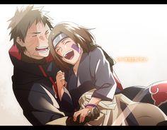 オビトとリンちゃんは本当に尊い…、幸せになってほしい…。(頭抱え)