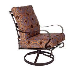 Marquette Swivel Rocker Club Chair