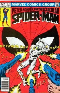 The Spectacular Spiderman Vol 1 52 Vintage Comic Books, Vintage Comics, Comic Books Art, Comic Art, Book Cover Art, Comic Book Covers, Caricature, Comics Spiderman, Dc Comics
