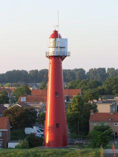 Vuurtoren, Hoek van Holland, Zuid-Holland.